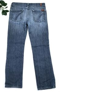 DOJO 7 for all Mankind Flare Jeans 29 Chain Stitch